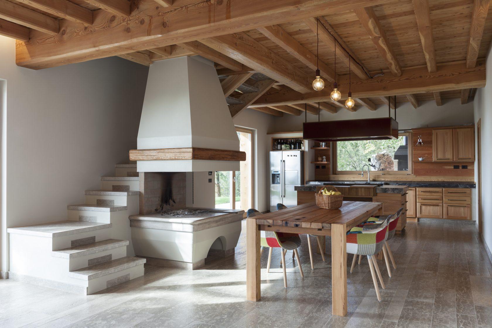 Rivestimento Casa In Legno casa moderna in legno | case prefabbricate trentino